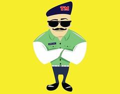 Traffic mama (ismailrajib) Tags: 2d character design logo illustration cheap affordable business illustrator photoshop