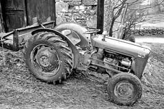 Muddy (nigel@hornchurch) Tags: scan295 tractor mud farm