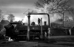 SVR (Dave.Miles) Tags: svr bridgnorth steam steamtrain locomotive olympus olympusom10 redfilter ilford ilfordfp4plus ilfotecddx zuiko 24mmzuiko analogue film filmisnotdead 7714 severnvalley