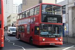 AL VLA127 @ Hainault Street, Ilford (ianjpoole) Tags: arriva london volvo b7tl alexander alx400 lj05bjo vla127 working route 128 romford train station claybury broadway