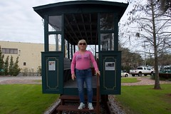2019 Jan 17, Fairhope's History Museum Fairhope, Al Nikon D7200 (King Kong 911) Tags: cokemachine fireengine flowers2 history murals2 museum stamps statue train1