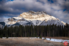 Mountan morning (Kasia Sokulska (KasiaBasic)) Tags: canada alberta mountains rockies banffnationalpark spring travel landscape