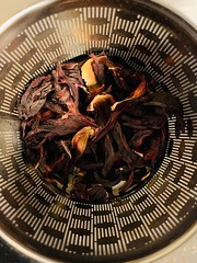 Hibiscus tea infuser (tanith.watkins) Tags: macromondays tea hibiscus infuser brew