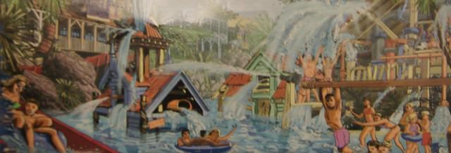 Cariba Creek - Indoor Concept Art