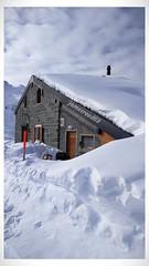 La cabane Brunet - Valais - Suisse (jamesreed68) Tags: forêts neige cold hiver winter alpes alps mountain tavé pleureur suisse valais brunet paysage nature schweiz swiss switzerland ciel montagne
