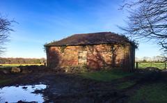 Day 045 dilapidated farm building (gamulryan) Tags: farmbuilding dilapidated rural bluesky