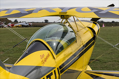 Pitts S-2A Special - 02 (NickJ 1972) Tags: shuttleworth collection oldwarden race day airshow 2018 aviation pitts s2 special gitii aerobatic