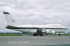 BOEING 747SP-31 TF-ABN AIR ATLANTA (shanairpic) Tags: jetairliner b747 boeing747sp boeing747 shannon airatlanta tfabn