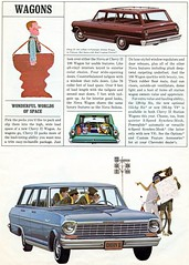 1964 Chevy II Station Wagon (coconv) Tags: car cars vintage auto automobile vehicles vehicle autos photo photos photograph photographs automobiles antique picture pictures image images collectible old collectors classic ads ad advertisement postcard post card postcards advertising cards magazine flyer prestige brochure dealer 1964 chevy ii station wagon 64 cehvrolet nova