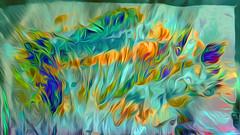 Tulpenbeet (wos---art) Tags: bildschichten kanal art three communication kommunikation flowers blumen tulpen rosen farbkomposition sakrale räume