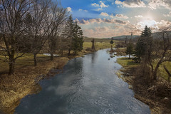 Upstate NY Landscape (Largeguy1) Tags: canon 5d mark ii clouds reflections