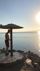 Dead Sea Video (oxfordblues84) Tags: jordan deadsea jordandeadsea water swimming resort video mövenpickresortspadeadseahotel deadseavideo horizon man mike men tourists tourist mud