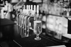 Few shots walking around Portobello road, actually this was a well deserved pit stop in the pub.  using a Konica Hexar RF - Voigtlander nokton 40mm 1.4 - Ilford FP4 plus. Developed in ilfosol 3 (cjthorose) Tags: voigtlandernokton14 voigtlander hexar konica konicahexar 35mm filmphotography blackandwhite analog