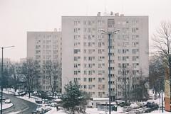 000042 (dominika.pancerz) Tags: 35mm analog analogue architecture canoneos1000 canon kodak kodak200 city winter krakow