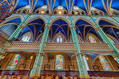 Notre Dame Cathedral Basilica,  Ottawa, Ontario, Trans Canada Road Trip, July 2014, photo by Hamid Payombarnia (Hamid Payombarnia) Tags: architecture basilica canada cathedral christianity churh fineart fineartphotography hamidpayombarnia july2014 notredame notredamecathedralbasilica ontario ottawa payombarnia photo photography roadtrip transcanada travelphotography