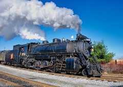 SteamTown (The Vintage Lens) Tags: scranton pa steamtown steam engine locomotive rails railroad coal powered vintage