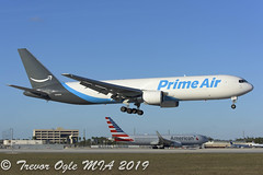 DSC_7092Pwm (T.O. Images) Tags: n1439a prime air boeing 767 767300 amazon atlas giant mia miami florida