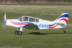 G-DANA - 2018 completed Replica Jodel DR.200, rolling for departure on Runway 26R at Barton (egcc) Tags: bakir barton cityairport dr200 egcb gdana gdast homebuilt jodel lightroom macleod manchester pfa30413351 replica replicajodel thomas cheshireeagles