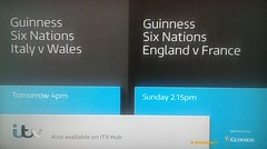 ITV - Continuity (daleteague17) Tags: itv 6 nations continuity 6nations itvcontinuity