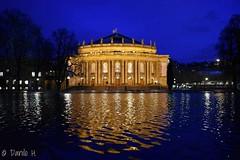 Staatstheater Stuttgart (Danilo H.) Tags: staatstheaterstuttgart oper balett schauspiel diestaatstheater diestaatstheaterstuttgart staatstheater stuttgart schlosspark wasser stimmung lichtstimmung