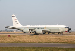 EGUN - Boeing RC-135U Combat Sent - United States Air Force - 64-14849 (lynothehammer1978) Tags: egun mhz rafmildenhall usaf unitedstatesairforce boeingrc135ucombatsent 6414849 offuttafb 55thwg 55thwing olive58