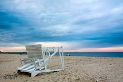 Sandy Hook Beach, NJ (ohaider) Tags: beach nj new jersey usa sandy lifeguard station upside down
