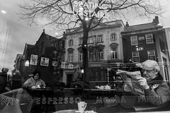 Coffee shop reflections (lukejam0) Tags: candid compact sthelens lukejamesphoto photo lukejames canon g7xmkii coffee reflection streetphotography blackandwhite bw street england streetphotographer streetphoto monochrome art light instagramapp