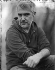 Mika (Braca Nadezdic) Tags: analog polaroid polaroid55 portrait 4x5 largeformat graflex speedgraphic aeroektar blackandwhite bw negative