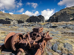 Machinery (Howie Mudge LRPS BPE1*) Tags: rust building ruins tanygrisiau cwmorthin gwynedd wales cymru uk travel landscape nature ngc nationalgeographic panasonicg9 microfourthirds mft m43 flickrtravelaward