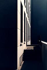 shadows ©ariane coerper (Stadtromantikerin) Tags: germany darmstadt fujixphotographer fujilove geometrie geometry graphical urban minimalism abstract architecture shadows lines