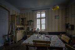 Kitchen / Kuchyň (katka.havlikova) Tags: abandoned lost house maison room kitchen old decay derelict urbex urbanexploration czech czechrepublic kuchyň opuštěný dům design interior