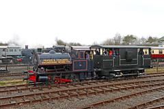 V75 Bagnall 0-4-0ST No. 2469 (1932) (Roger Wasley) Tags: 2469 v75 bagnall 040st steam locomotive quainton buckinghamshire trains railways railway centre fraserandchalmers