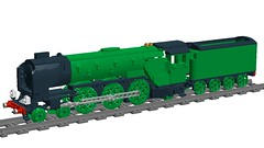wip (Britishbricks) Tags: lego steam engine train loco smokedeflectors tornado peppercorn a1 a3 class wip lner british railways
