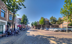 Hofplein, Alkmaar. (Alex-de-Haas) Tags: oogvoornoordholland 11mm alkmaar blackstone d850 dutch europa europe european hdr holland irix irix11mm irixblackstone lightroom nederland nederlands netherlands nikon nikond850 noordholland photomatix photomatixpro westfrisia westfriesland westfries architecture architectuur building buildings center centrum city cityscape gebouw gebouwen innercity stad straat street summer town urban zomer northholland nl