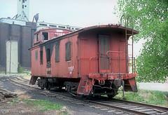 CB&Q Waycar Class NE-8 13839 (Chuck Zeiler 48Q) Tags: cbq waycar class ne8 13839 burlington railroad caboose kansascity train chuckzeiler chz