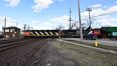 Diamond Slam (Robby Gragg) Tags: cn c408m 2414 west chicago