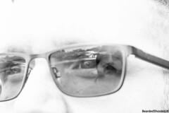 Self portrait challenge. (Bearded Shooter) Tags: portrait selfportrait selfie friend challenge glasses specs male man posing blackwhite selfshot street streetphotography contrast uk lancaster photowalk photo photooftheday city streets fuji fujifilm xe1 reflection reflecting different