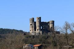 43 Domeyrat - Château  XV XVI (Herve_R 03) Tags: architecture auvergne château castle hauteloire france