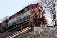 No fooling (DonnieMarcos) Tags: berwyn berwynil cn cnr canadiannational illinoiscentral ic icrr illinois chicago chicagorails rails railroad railway railfanning railfan rail railroads trains train trainspotting traintrack traintracks generalelectric ge m337 cnm337 cnm33791 m33791 bcol bcrail bcolbarn c408m dash840cm