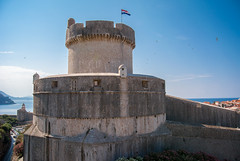Minceta Tower part of Dubrovnik fortress