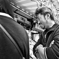 ameyoko-cho, japan (michaelalvis) Tags: asia ameyokocho bw blackandwhite candid city citylife fujifilm flickr food japan japanese japon japanesesigns monochrome mono nihon nippon peoplestreet portrait people peoplestreets streetphotography streetlife street signs travel tokyo urban ueno x70 happyplanet asiafavorites