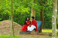IMG_9713 (Nijhumzz) Tags: nature couple red canon bangladesh jinda sharee panjabi