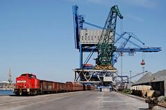 298 322 I Rostock-Seehafen (Bahn Sascha) Tags: eisenbahn br298 v100 db cargo güterzug hafen rostock