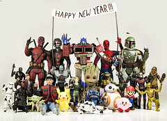 Happy New Year 2019 (Jezbags) Tags: happy new year 2019 toy toys marvel nintendo starwars pokemon av avengers guardiansofthegalaxy canon canon80d 80d 100mm macro macrophotography macrodreams newyear 2018