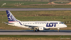 LOT E170 (Ramon Kok) Tags: avgeek avporn aircraft airline airlines airplane airport airways aviation dus dusairport dusseldorf dusseldorfairport ejet e170 eddl embraer embraere170 germany lo lot lotpolishairlines spldg