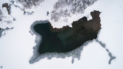 Cracks (Dreamy Pixel) Tags: above aerial arctic background beaufort beautiful beauty blue cold december delta drone environment forest frost frosty frozen fusine high ice italy lake landscape mangart mountains natural nature northwest outdoor over panorama people pine river scene scenic sea season snow spruce taiga territories top travel tree trees view white wild winter tarvisio friuliveneziagiulia it