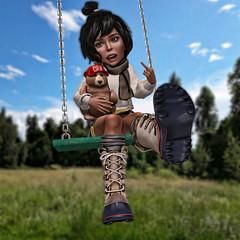 Swing (BabyGirlMoni) Tags: secondlife babygirl moni muffin monica muff cute mommy domme daddy dom md dd bg