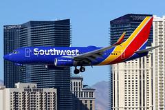 Southwest Airlines   Boeing 737-700   N7722B   Las Vegas McCarran (Dennis HKG) Tags: aircraft airplane airport plane planespotting canon 7d 100400 lasvegas mccarran klas las southwest southwestairlines swa wn boeing 737 737700 boeing737 boeing737700 n7722b