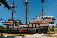 pedro alvares cabral boat (Bodeccn) Tags: canon t6i landscape nature bahia portoseguro brazil boat