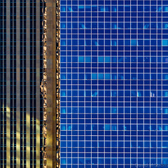 Minneapolis Geometry (David M Strom) Tags: minneapolis abstract architecture davidstrom windows olympusem1markii olympus40150